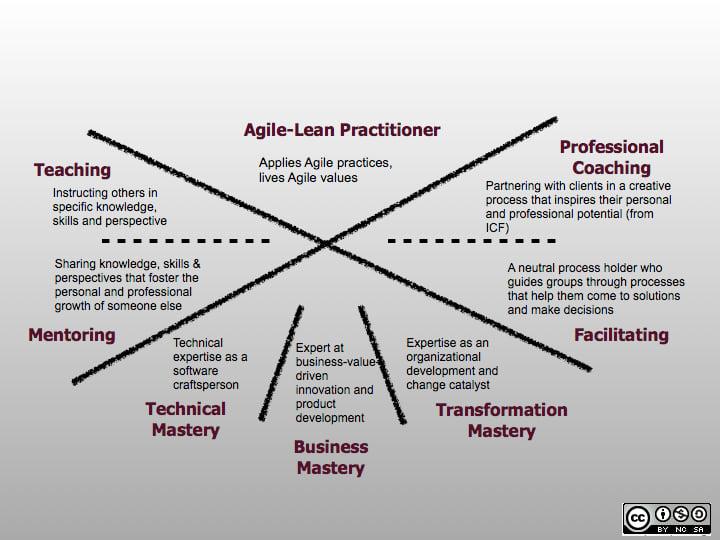 Agile Coach Ausbildung ein Framework für Fertigkeiten