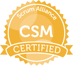 certified scrum master® logo
