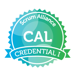 Certfied Agile Leadership 1 badge