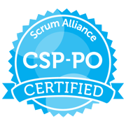 Logo Scrum Alliance CSP-PO