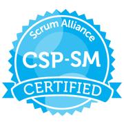 Logo Scrum Alliance CSP-SM